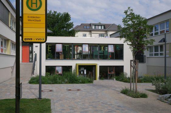 Kita EntdeckerWerkStadt - Eingangsfoto
