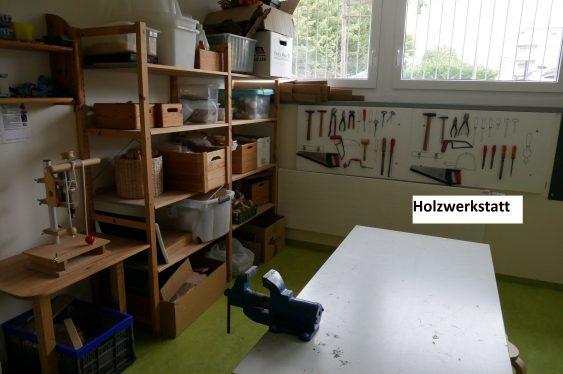 Kita EntdeckerWerkStadt - Werkstatt
